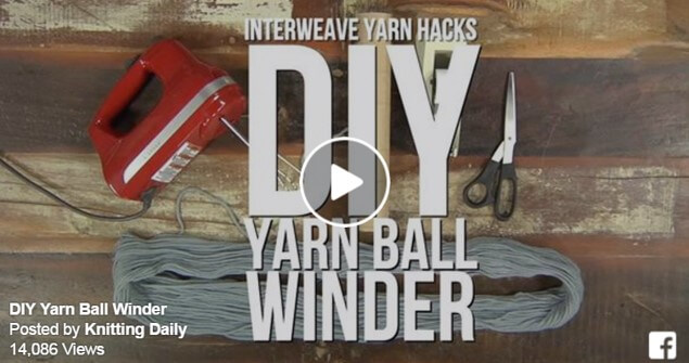 how to build a yarn ball winder