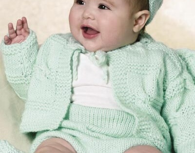 Knit Baby Summer Layette Free Pattern