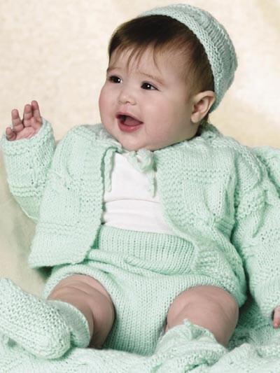 Knit Baby Summer Layette Free Pattern
