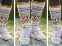 Always winter knitted socks | the knitting space