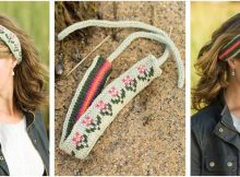 Annisquam knitted headband | the knitting space