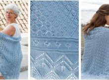 Aretusa knitted lace shawl | the knitting space