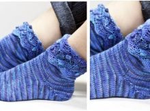 Artichoke knitted ankle socks | the knitting space