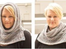 Arya's water dancer knitted cowl | the knitting space
