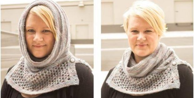 Aryas Water Dancer Knitted Cowl Free Knitting Pattern