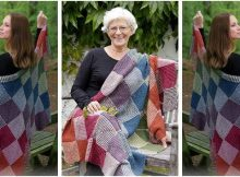 Autumn nights knitted blanket | the knitting space