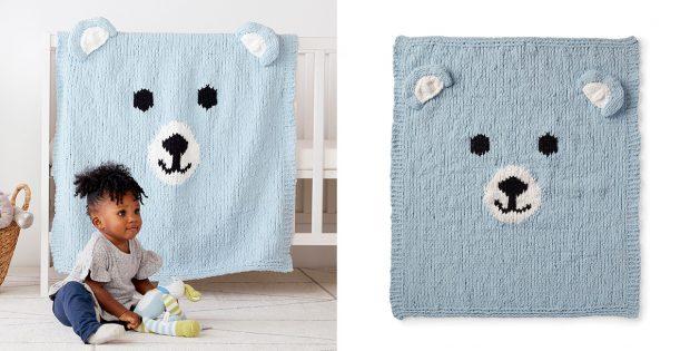 Baby bears blanket