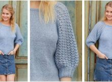 Bejeweled knitted sweater | the knitting space