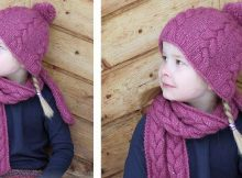 Berry Wrap knitted warmers | the knitting space