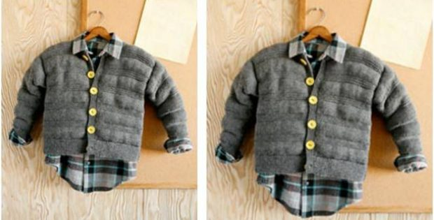 Biff Knitted Children S Jacket Free Knitting Pattern