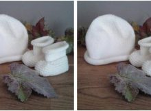 Boreal knitted baby warmers | the knitting space