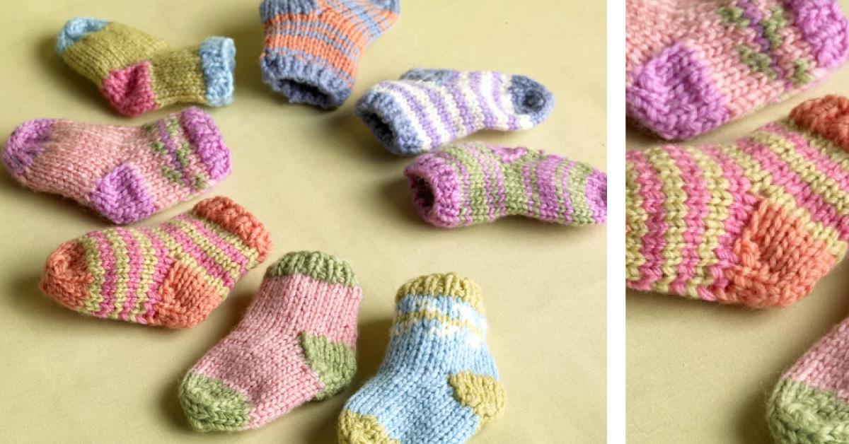sock booties for babies