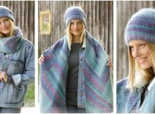 Casually Cozy knitted warmer set | the knitting space