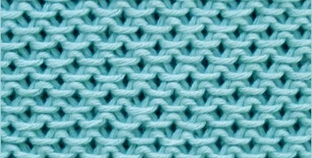 how to knit the Chinese wave stitch | the knitting space
