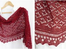 Cyrcus knitted lace shawl | the knitting space
