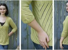 Dias De Betty knitted sweater | the knitting space