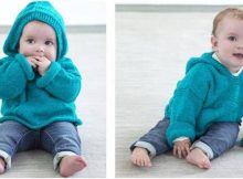 Diego knitted hoodie pullover   the knitting space