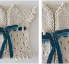 Dirghagama knitted baby cardigan | the knitting space