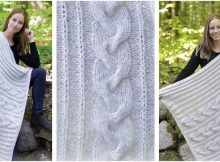 Dream Away knitted blanket | the knitting space