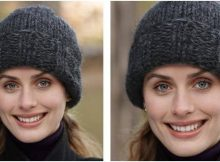 cozy Eagle Bay knitted hat | the knitting space