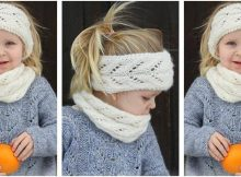 Eirlys knitted kiddie warmers | the knitting space