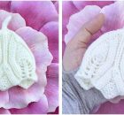 Elvish teeny tiny knitted baby hat | the knitting space