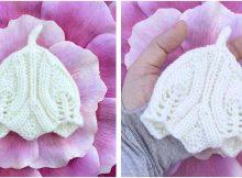 Elvish teeny tiny knitted baby hat   the knitting space