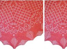 Felicity knitted lace shawl | the knitting space