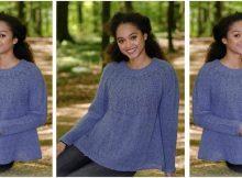 Fleur de Lavande knitted sweater   the knitting space