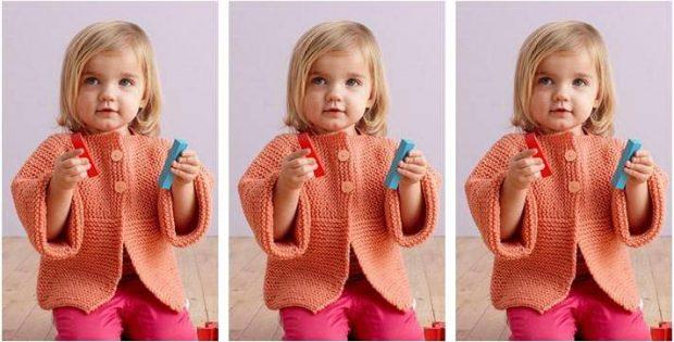Fresh Melon Knitted Cardigan  FREE Knitting Pattern  de9e893ed