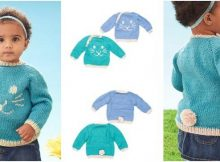 Funny Bunny knitted pullover   the knitting space
