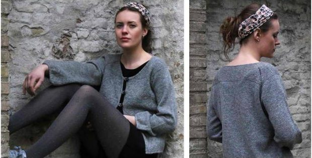 Harmonious Hune knitted cardigan | the knitting space