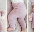 Hello Kitten knitted baby set | the knitting space