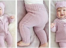 Hello Kitten knitted baby set   the knitting space