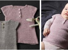 awesome Iben knitted baby vest | the knitting space