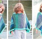 Ice Queen knitted poncho | the knitting space