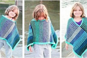 Ice Queen knitted poncho   the knitting space