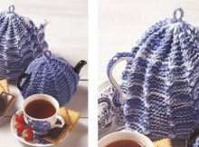 Traditional knitted tea cozy | The Knitting Space