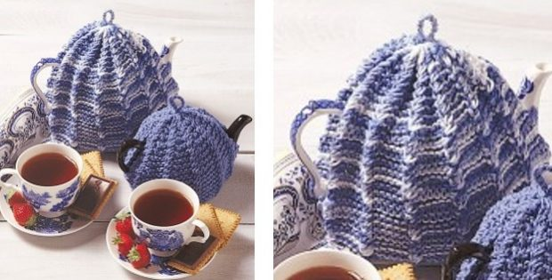 Traditional Knitted Tea Cozy Free Knitting Pattern
