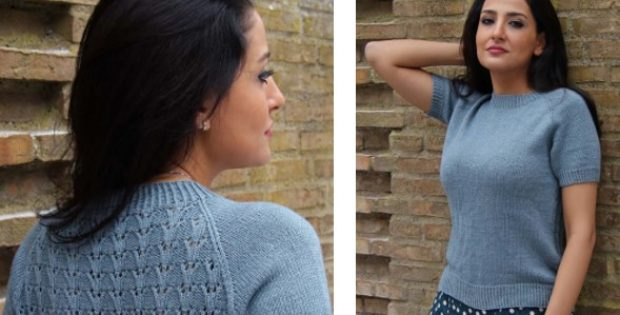 Vintage Toulouse Knitted Lace Top Free Knitting Pattern