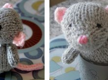 Super cute marisol knitted mouse | The Knitting Space
