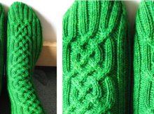 viking unisex knitted socks | The Knitting Space