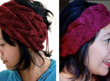 Stylish vanessa knitted headband   The Knitting Space