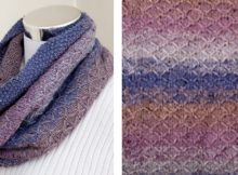 Stylish telluride knitted cowl | The Knitting Space