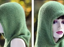 Forest friend knitted hood   The Knitting Space