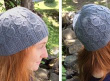 Arietta knitted cabled beanie   The Knitting Space