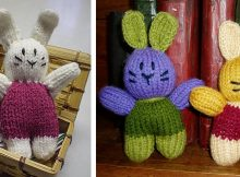 Irresistibly Cute Knitted Pocket Bunny | The Knitting Space