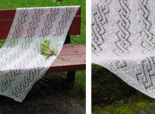 Light Knitted Lace Shawl | The Knitting Space