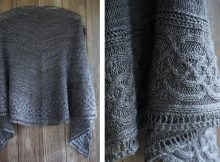Celtic Myths Knitted Shawl | The Knitting Space
