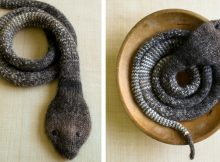 Playful Knitted Stockinette Snake | The Knitting Space